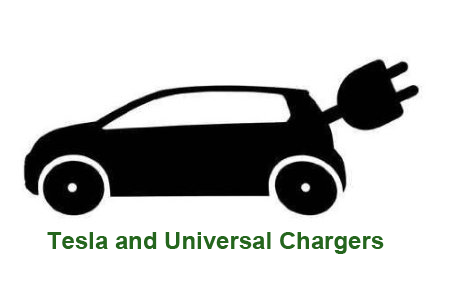Electric Car Symbol